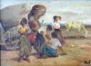 Marcel DYF - Pintura - Tsiganes - Gitans -  Gypsy