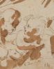 Annibale CARRACCI - Dessin-Aquarelle - Tres Amorcillos