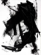 Saverio FILIOLI - Drawing-Watercolor - Studio sul nero
