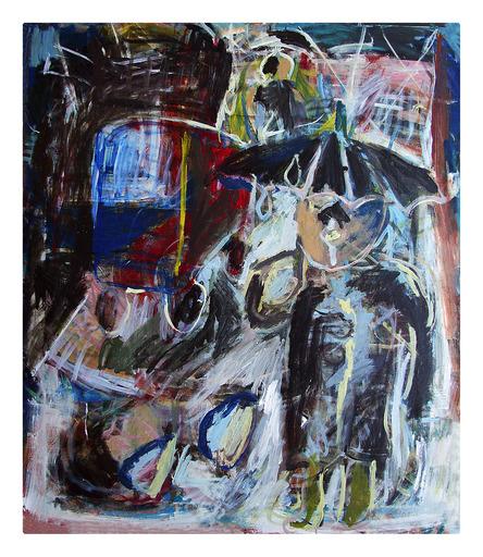 Mario SALINA - Painting - Piazza Cinque Giornate