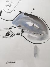 托马斯•舒特 - 水彩作品 - Untitled/Yvonne