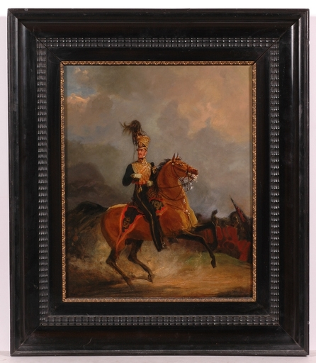 """Jan Willem PIENEMANN - Painting - """"Lord Uxbridge at Waterloo"""", Oil Painting"""