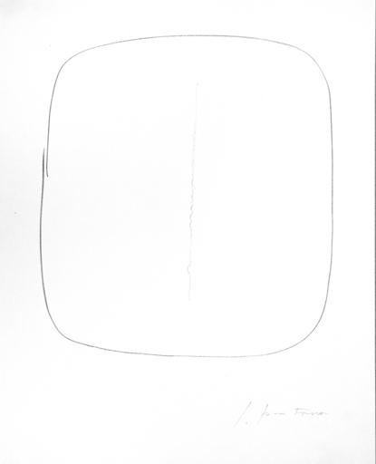 Lucio FONTANA - Grabado - Concetto spaziale