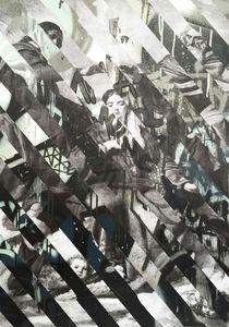 "Arnaud PUIG - Pintura - VERSUS ""BLACK AND WHITE - MURILLO """