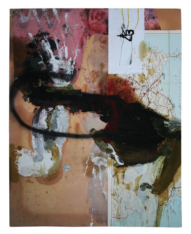 Michele RIO - Painting - senza titolo