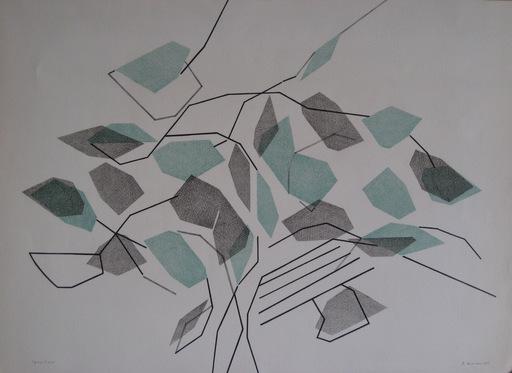 André BEAUDIN - Print-Multiple - LITHOGRAPHIE 1966 SIGNÉE CRAYON EA HANDSIGNED EA LITHOGRAPH