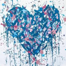 JONONE - Radierung Multiple - Royal Heart