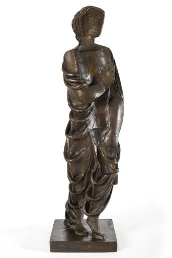 Ossip ZADKINE - Sculpture-Volume - Figurine drapée