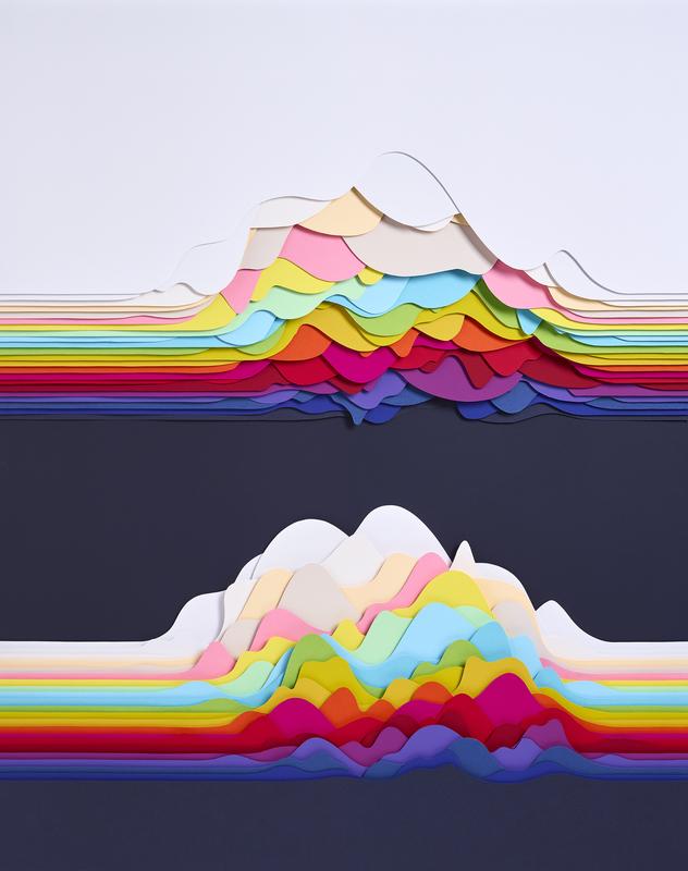 Maud VANTOURS - Zeichnung Aquarell - Landscape