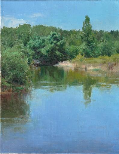 Alexey ALPATOV - Painting - River Landscape
