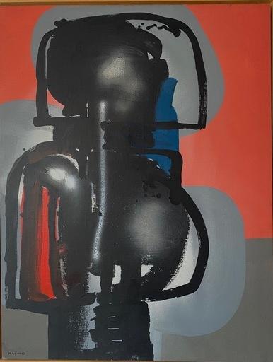 Ladislas KIJNO - Painting - L'IMPATIENCE FOLLE