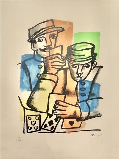 费尔南‧雷杰 - 版画 - Les Gendarmes