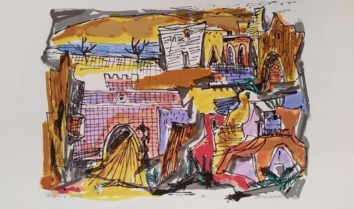 Marcel JANCO - 版画 - Tiberias,