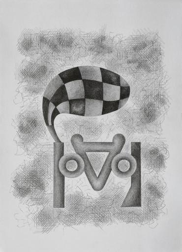 Enrique Rodriguez GUZPENA - Dibujo Acuarela - El duende