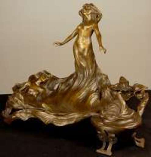 Franz BERGMANN - Sculpture-Volume -  Sea Nymphs