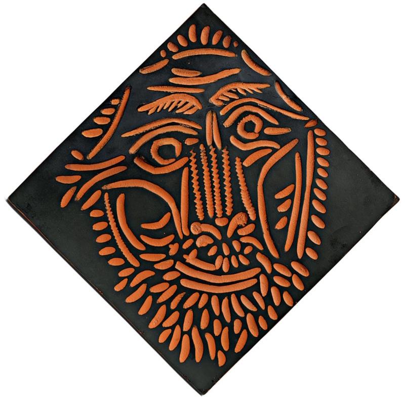 Pablo PICASSO - Ceramic - Tête de Lion