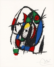 Joan MIRO - Print-Multiple - Pl.7 from 'Joan Miró Lithograph II'