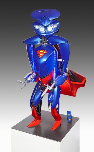 Rémy AILLAUD - Sculpture-Volume - Superman