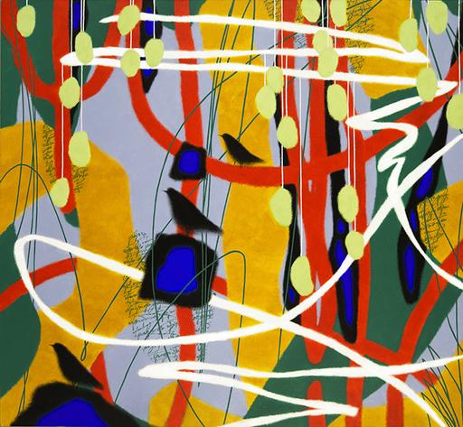 Alexander OLIGEROV - Gemälde - Morning in the magic forest