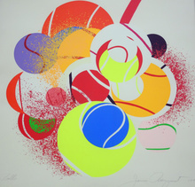 James ROSENQUIST (1933) - balls