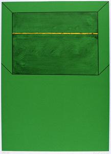 Karl Fred DAHMEN - Print-Multiple - Chiemgau-Grün (Raum)