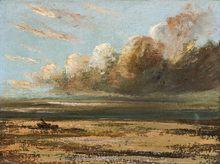 Gustave COURBET - Peinture - Paysage de mer