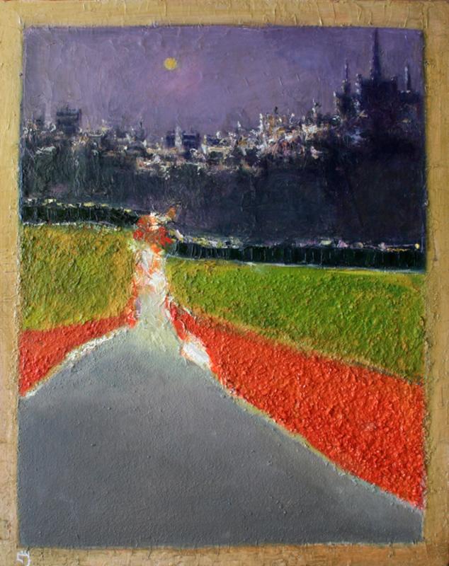 Levan URUSHADZE - Pintura - Get your kicks on route 66