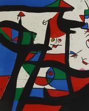 Joan MIRO (1893-1983) -  In the Salt Cellar   Dans le Grenier à Sel