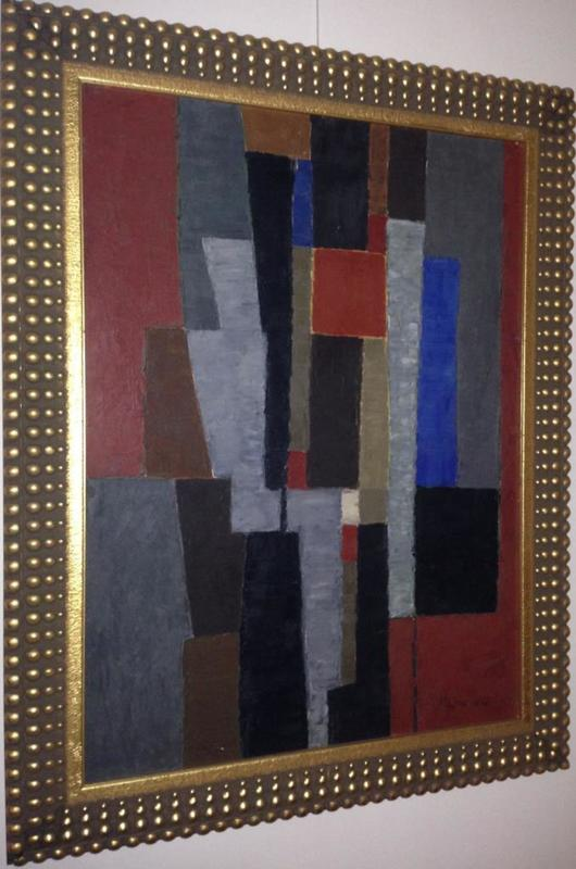 Pierre mantra abstraction g om trique oeuvres de la place for Abstraction geometrique