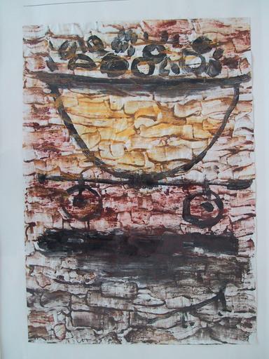 Paul KLEE - Gemälde - VERLADUNG DER FRÜCHTE