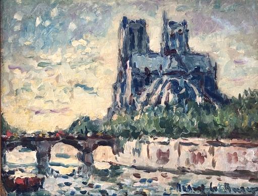 Robert LE BERGER - Pintura - Notre Dame