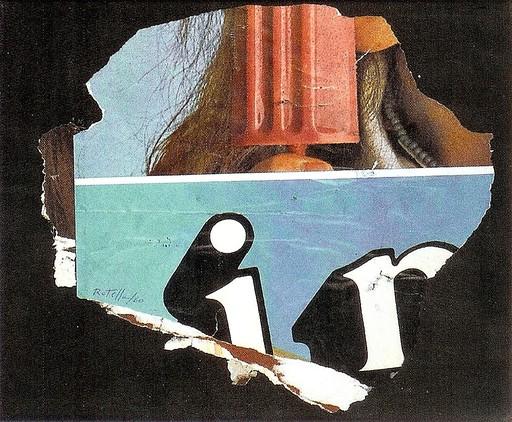Mimmo ROTELLA - Peinture - SENZA TITOLO - 1960