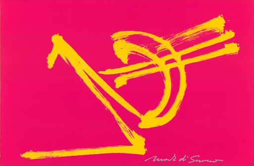 DI SUVERO Mark - Estampe-Multiple - Fire Jump (lithograph)