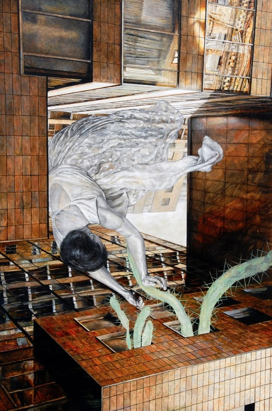 Sophie BOKSER - Peinture - EPHEMERAL