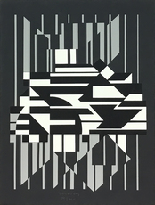 Victor VASARELY - Stampa Multiplo - Horn