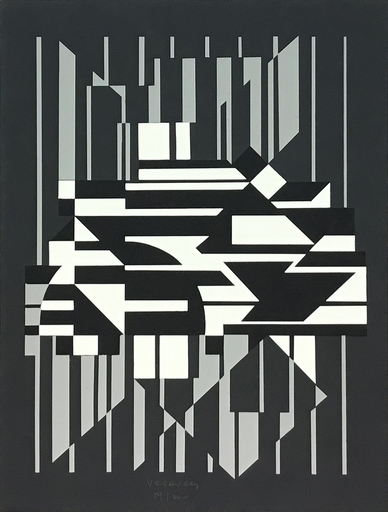 Victor VASARELY - Print-Multiple - Horn
