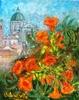 Valerio BETTA - Painting - Campanule con...Brescia