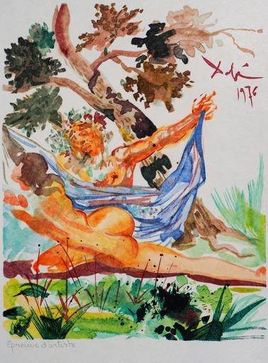 萨尔瓦多·达利 - 版画 - Les Amants - Infidèle épouse de Mélénas