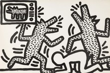 Keith HARING - Estampe-Multiple - Untitled (3)