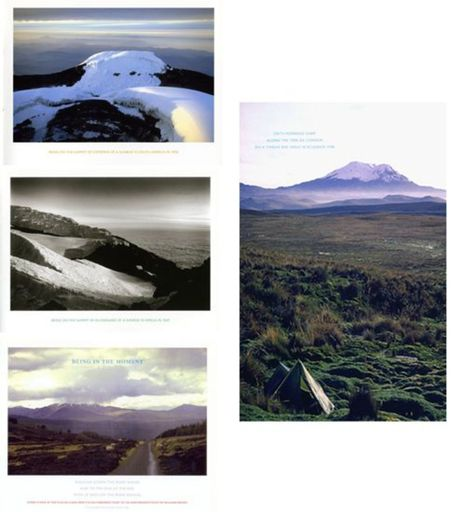 Richard LONG - Print-Multiple - Being in the moment