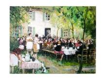 Jules René HERVÉ - Pintura - *Les Invitees