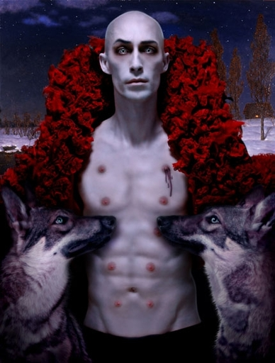 Cedric TANGUY - Photography - Cédracula with Romulus & Remus