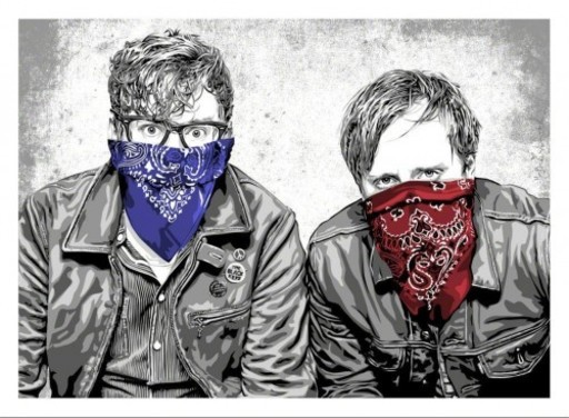 MR BRAINWASH - Print-Multiple - The Black Keys