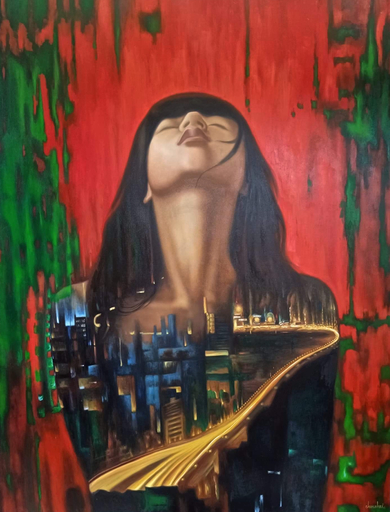 Jo CHANCHAI - Painting - Women of the City II