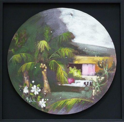 Anne Christine WELLENSTEIN - Peinture - Sous les Tropiques