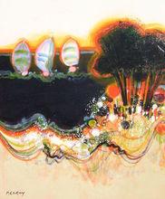 Frédéric MENGUY - Painting - Les voiliers sous spi