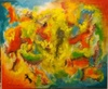 Romeo DOBROTA - Painting - Quo vadis Korona,