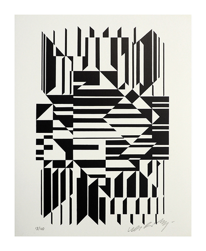 Victor VASARELY - Print-Multiple - Tilla