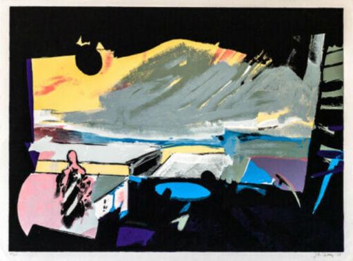 John Philip HULTBERG - 版画 - Wide Window 1