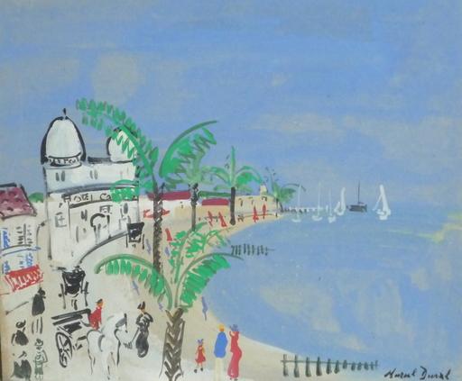 Marcel DUVAL - Pintura - le casino